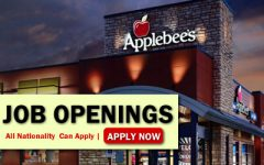 Applebee's Job Opportunities
