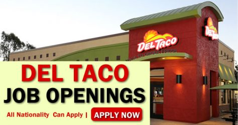Del Taco Job Opportunities