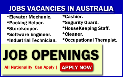 Find a job in Australia by 2019