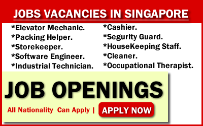 Find a job in Singapore by 2019