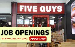 Five Guys Job Opportunities