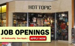 Hot Topic Job Opportunities