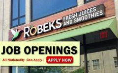 Robeks Job Opportunities