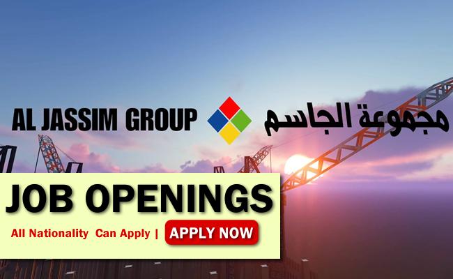 Al Jassim Group Job Opportunities