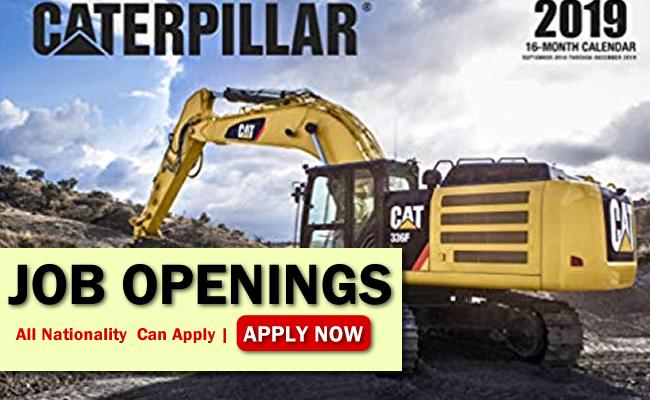 Caterpillar Job Opportunities