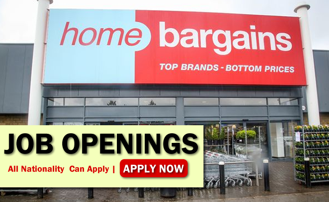 Home Bargains Job Opportunities
