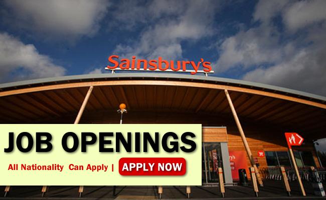 J Sainsbury Plc. Job Opportunities