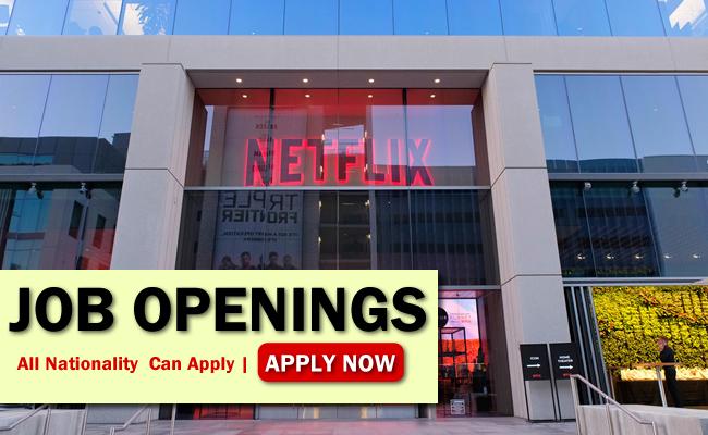 Netflix Job Opportunities