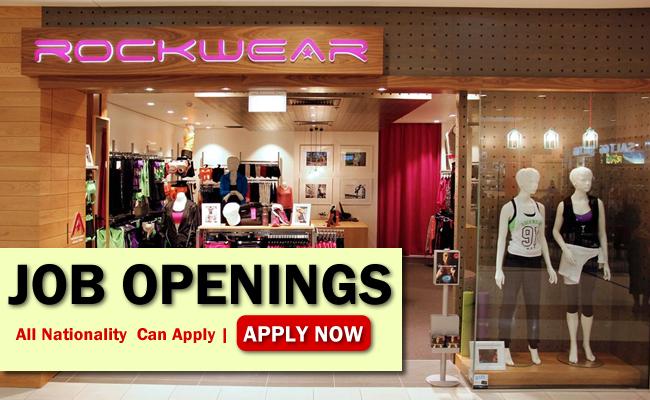 Rockwear Job Opportunities