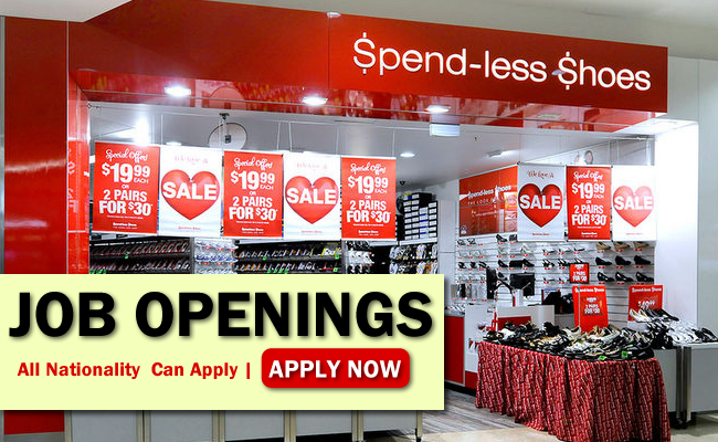 Spendless Shoes Job Opportunities