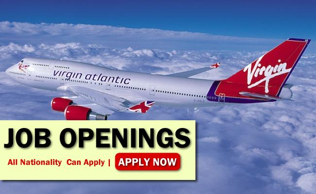 Virgin Atlantic Job Opportunities