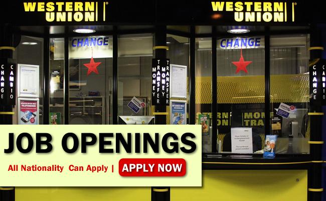 Western Union Job Opportunities