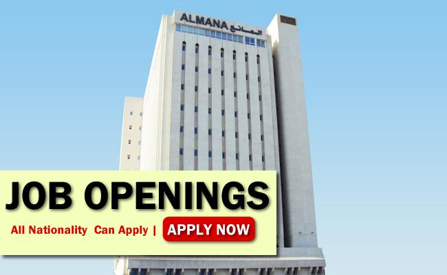 Almana Job Opportunities
