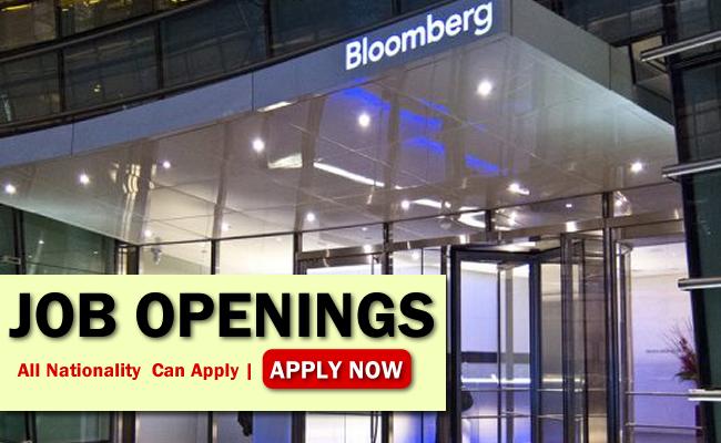 Bloomberg Job Opportunities