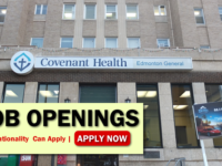 Covenant Health Canada Job Opportunities