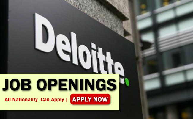 Deloitte Job Opportunities