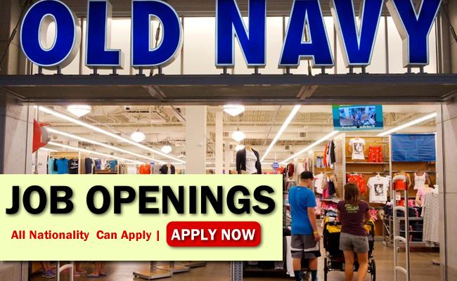 Old Navy Job Opportunities