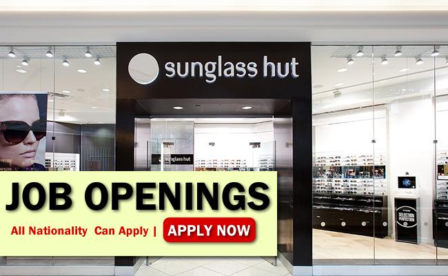 Sunglass Hut Job Opportunities