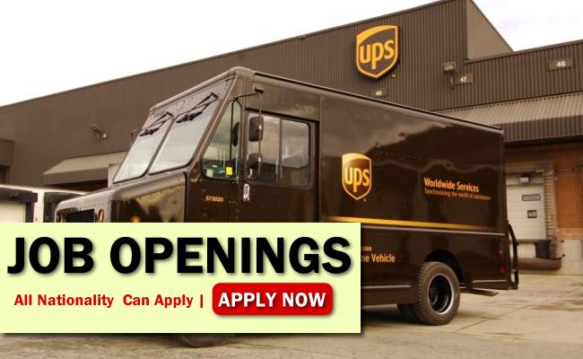 UPS Job Opportunities