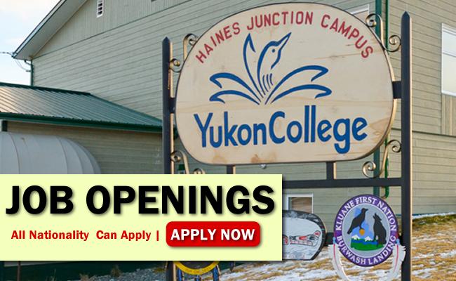 Yukon College Job Opportunities