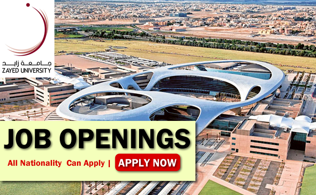 Zayed University Job Opportunities