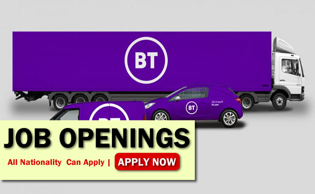 Bt Job Opportunities