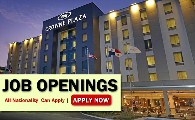 Crowne Plaza Hotel Job Opportunities