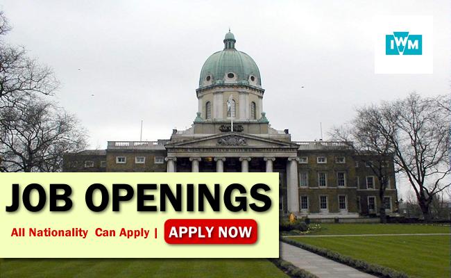 Imperial War Museums Job Opportunities