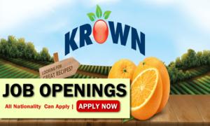 Krown Produce Job Opportunities