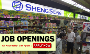Sheng Siong Supermarket Job Opportunities